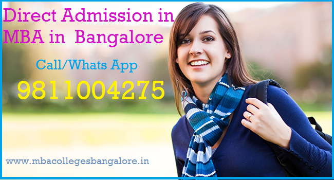 Direct admission in MBA Bangalore