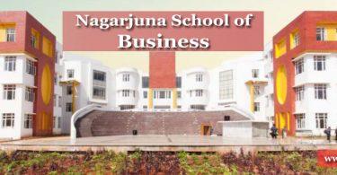Nagarjuna School of Business campus