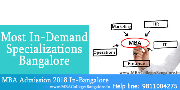 Specializations in MBA Colleges Bangalore